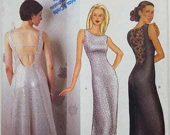 Misses' Dress Pattern. Uncut. Size 18, 20, 22. Butterick 6822.