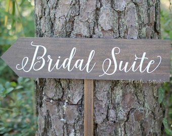 Wooden Bridal Party Sign - WS-231