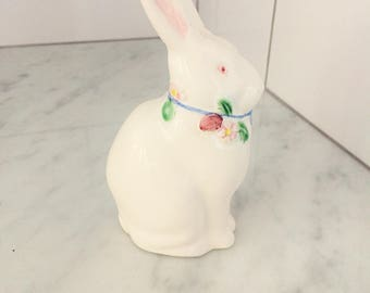 Ceramic Bunny, Easter Decor, Easter Bunny, Rabbit Figurine, Bunny Rabbit, Vintage Bunny Figurine