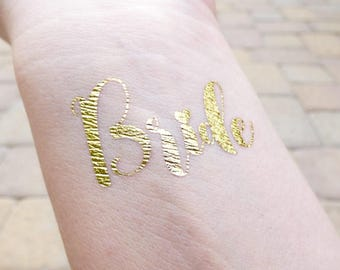 Bride Tattoo, I Do Crew Tattoo, Bachelorette Party Tattoos, Hen Party Tattoo, Gifts For Her, Bridal Shower Tattoo, Engagement Party Tattoo