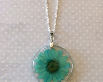 Flower Necklace - Flower Jewelry - Flower Pendant - Flower Pendant Necklace - Flower Petals - Flower Petal Jewelry - Floral Necklace - Gift
