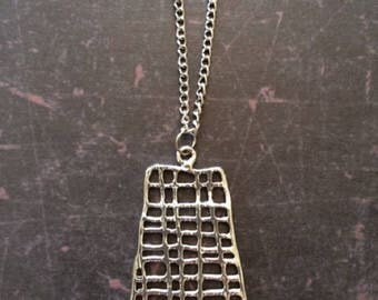 Silver Necklace - Silver Jewelry - Silver Pendant - Silver Pendant Necklace - Unique Necklace - Unique Jewelry - Unique Pendants - Necklace