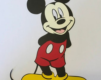 11 inch tall Mickey Mouse Cricut Die Cut