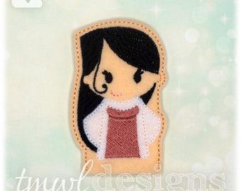 SoS Mommy Finger Puppet Toy Digital Design File
