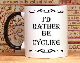Cycling Mug, bicycle coffee mug, bike mug, cyclist mug, cycling coffee mugs, gift for cyclist, bike coffee mug, bicycle mug, biking mug