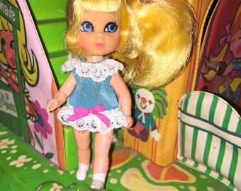 Liddle Kiddles Suki Skediddler doll Vintage Mattel 1968