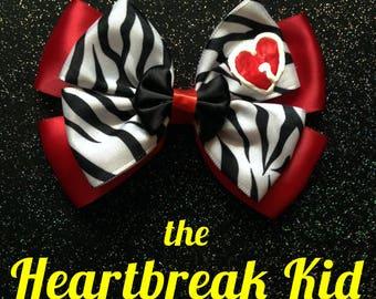 Shawn Michaels Heartbreak Kid WWE inspired bow