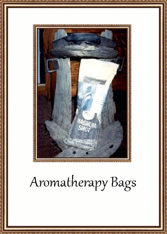 Aromatherapy Bags Made Especially For Him With Old Magnum Shot Bags
