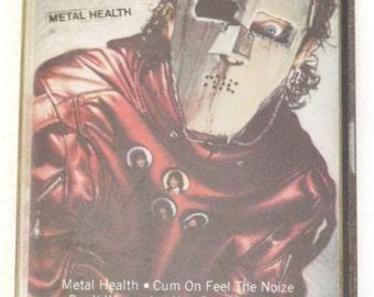 Vintage 80s Quiet Riot Metal Health Heavy Metal Album Cassette Tape