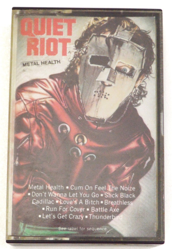 Vintage 80s Quiet Riot Metal Health Heavy Metal Album Cassette Tape
