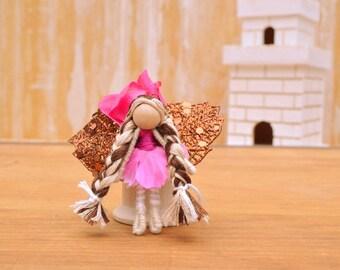 Flower Fairy Doll - flower fairies, miniature fairy doll, miniature fairies, waldorf fairy doll, waldorf fairiesm small fairy doll,