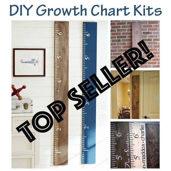 DIY Growth Chart / Growth Ruler
