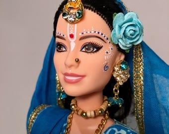Gopi Dolls - Gandharvika - OOAK Barbie doll