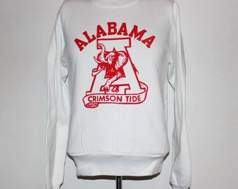 Vintage Alabama Crimson Tide NCAA Crewneck Sweatshirt S