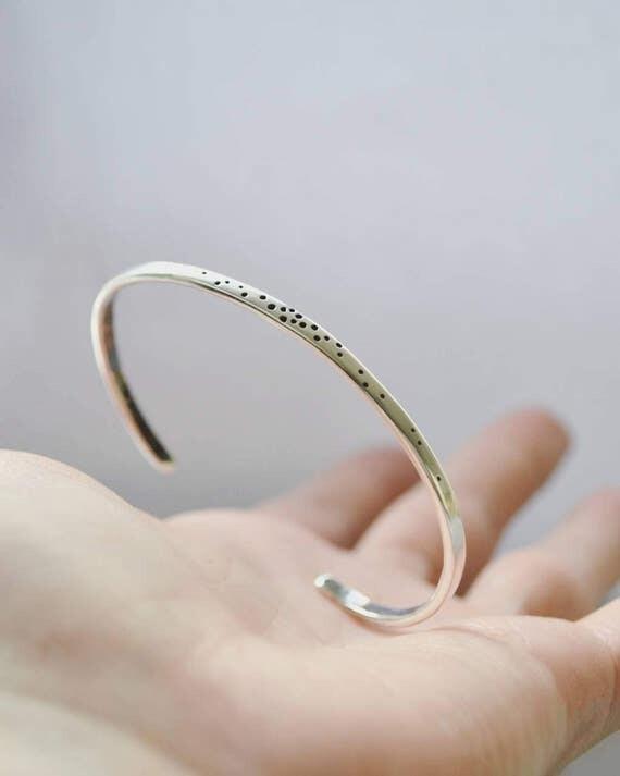 Speckled bracelet