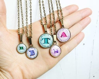 name letters name jewelry initial necklace friendship jewelry gift|for|girlfriend gift|for|best friend friendship gift friendship necklace