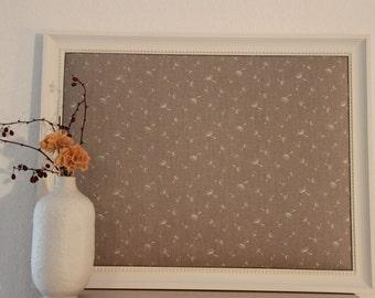 Framed Pinboard Memoboard *Dandelion*