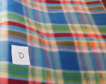 Plaid Blanket / Personalized Pet Blanket / Fleece Blanket/ Pet Item/ Pet GIft/ Cat Blanket / Dog Blanket