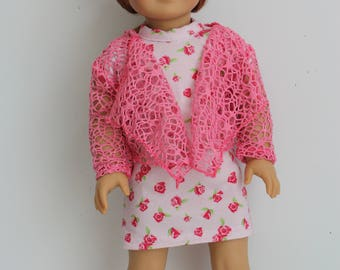 18 inch doll clothes made to fit dolls such as american girl and my imagination, AG doll clothes, Vintage t shirt dress and sweater