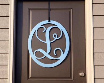metal monogram door hanger monogram door wreath front door wreaths front door letters letter door hanger outdoor decor