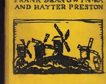Windmills/ Frank Brangwyn RA and Hayter Preston/16 Color Lithographs
