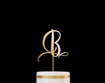 Customized Wedding Cake Topper Personalized Cake Topper for Wedding, Custom Personalized Wedding Cake Topper, Monogram Cake Topper 25