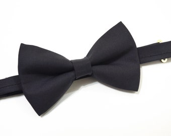 Charcoal Gray bow ties For baby/Toddler/Teen/Adult/with Adjust strap/Clip on