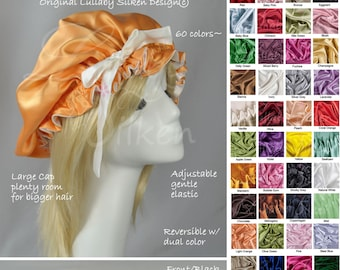 sleep bonnet, silk bonnet, silk hair bonnet, mandarin, natural hair product, hair care, hair treatment wrap, turban hat, beauty gift, hc2