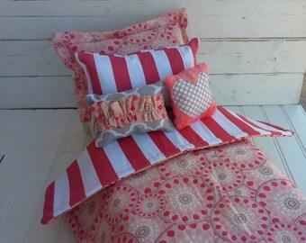 Doll Bedding - 18 inch doll bedding set