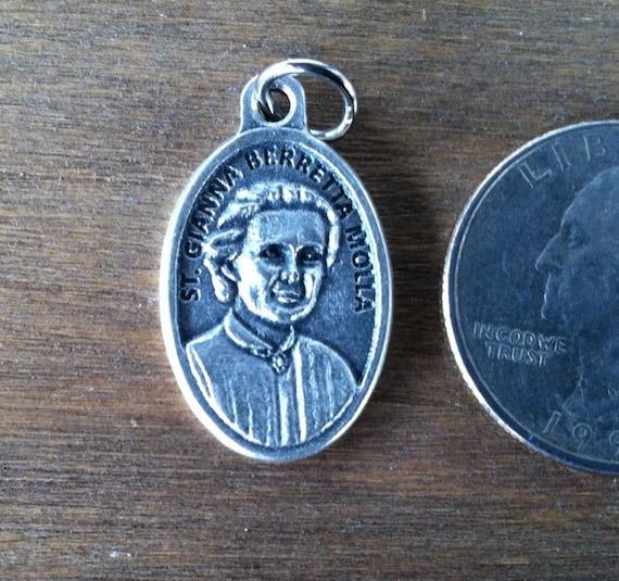 St Gianna Berretta Molla Holy Medal Catholic Saint Patron