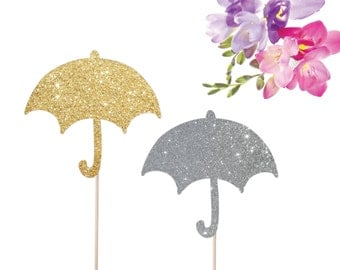 umbrella cake topper baby shower cake topper baby sprinkle cake topper sprinkled with