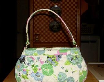 Vera Bradley Butterfly Garden Special Edition Handbag