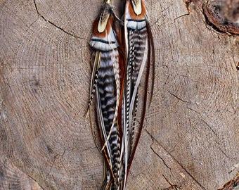Feather Earrings #08