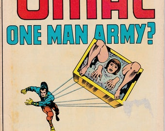 Omac: One Man Army #1, October 1974 Issue - DC Comics - Grade VG