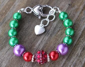 The Little Mermaid Bracelet, Ariel Bracelet, Disney Princess Jewelry, The Little Mermaid Jewelry, Ariel Jewelry, Disney Princess Bracelets