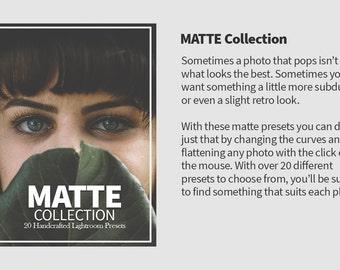 20 Matte Lightroom Presets for Photography
