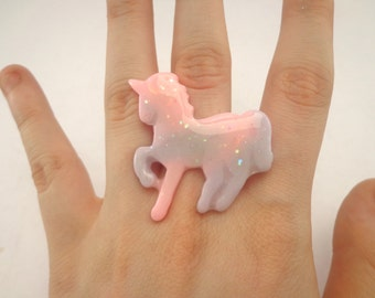 SALE!! Pastel unicorn ring