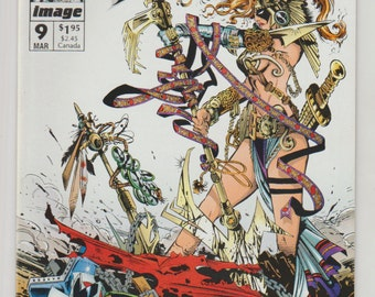 Spawn; Vol 1, 9 Modern Age Comic Book.  NM- (9.2).  March 1993.  Image Comics