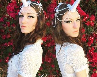 Unicorn Horn, Custom Unicorn Tiara, Mystical Unicorn Crown