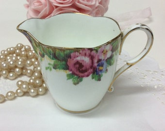 Paragon 'Tapestry Rose' Creamer Double Warrant Stamp