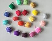 PRE-ORDER: Rainbow Frankensocks Kit - Hand Dyed Sock Yarn - 20 5g mini skeins