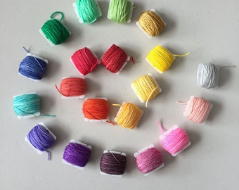 Rainbow Frankensocks Kit - Hand Dyed Sock Yarn - 20 5g mini skeins