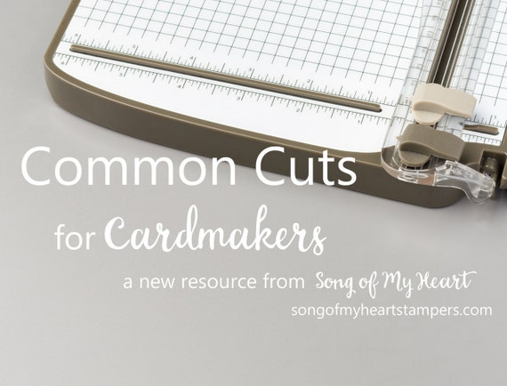 Common Cuts for Cardmakers 101: Instant Digital Download cardmaking classes to go for stampers, papercrafters, beginners, newbies, advanced