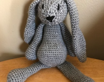 Bunny Easter stuffed animal crochet amigurami knit