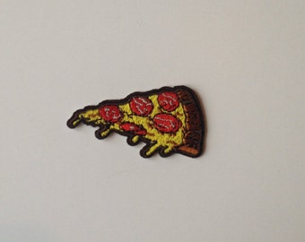 Pizza Slice Iron on Patch