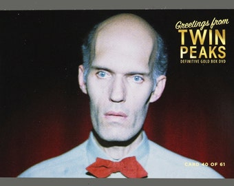 Twin Peaks Gold Box Postcard Card # 40 of 61 Carel Struycken as The Giant