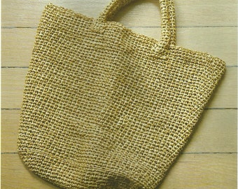 Summer Tote Crochet Bag PDF Crochet Pattern