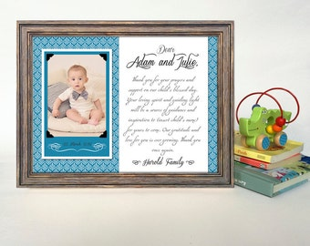 will you be my godmother godmother gift godmother frame baptism gift for godparents christening gift