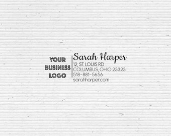 Independent Consultant and Distributor Business Stamp for Labelling and Packaging BIZ001