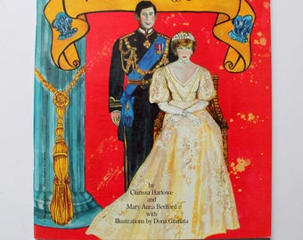 The Princess Diana Paper Doll Book of Fashion 1982